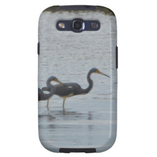 Tricolored Heron Reddish Egret Bird Nature Samsung Galaxy SIII Case
