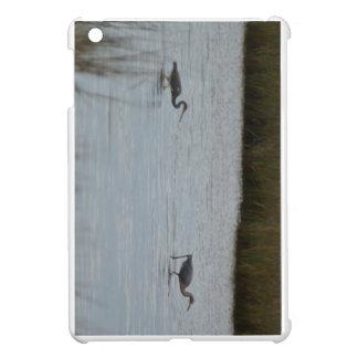 Tricolored Heron Reddish Egret Bird Water Nature iPad Mini Case