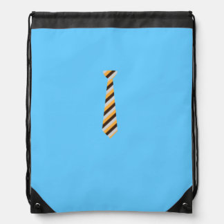Tricolored Tie Cinch Bags