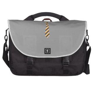 Tricolored Tie Computer Bag