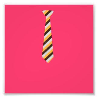 Tricolored Tie Photo Print