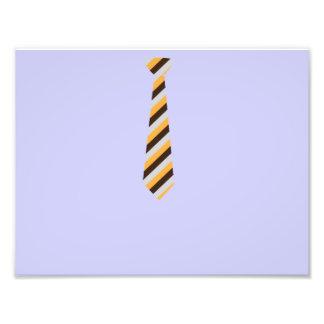 Tricolored Tie Photo Art