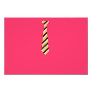 Tricolored Tie Photographic Print