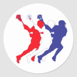 TricolorRWB.ai Classic Round Sticker