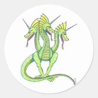 Tricorn Dragon Sticker