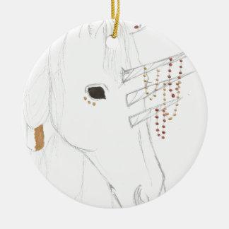 Tricorne Ceramic Ornament
