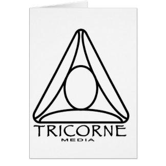 Tricorne Media Logo Designs Card