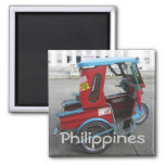 Tricycle 2 Inch Square Magnet