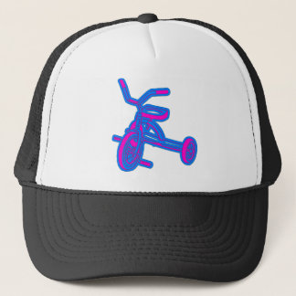 Tricycle Abstract Kids Trucker Hat