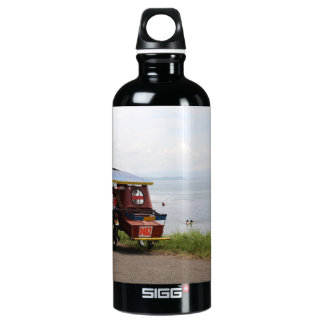 Tricycle at the San Pedro Bay Aluminum Water Bottle