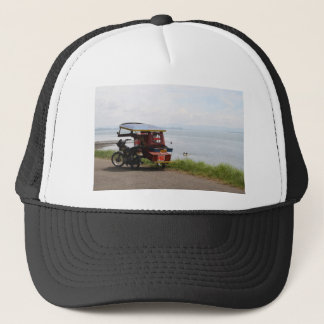 Tricycle at the San Pedro Bay Trucker Hat