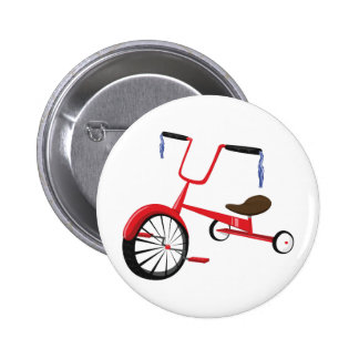 Tricycle Pinback Buttons
