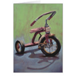 TRICYCLE HIGH RES GREETING CARD