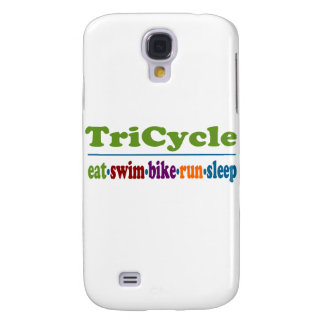 TriCycle in Color Samsung Galaxy S4 Cases