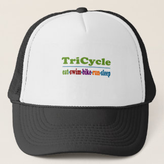 TriCycle in Color Trucker Hat