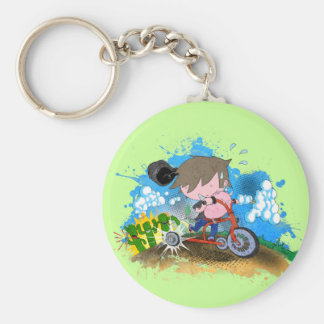 Tricycle Keychain