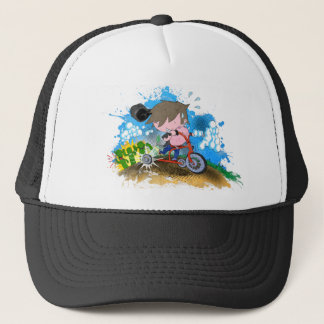 Tricycle Trucker Hat
