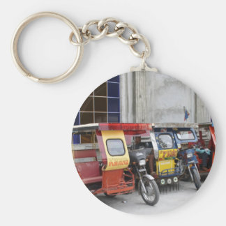 Tricycles Basic Round Button Keychain