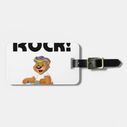 Tricycles Rock! Luggage Tag