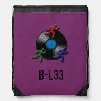 TriDash Records: B-L33 Drawstring Backpack