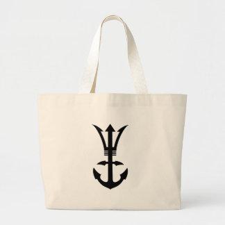 Trident Achor Large Tote Bag