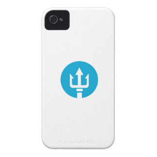 Trident Circle Icon Case-Mate iPhone 4 Case
