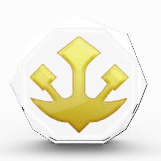 Trident - Emoji Acrylic Award