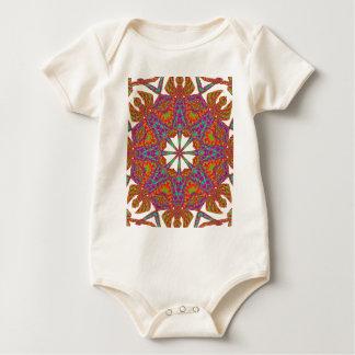 Trident Mandala Baby Bodysuit