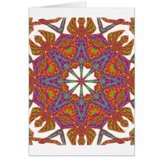 Trident Mandala Card