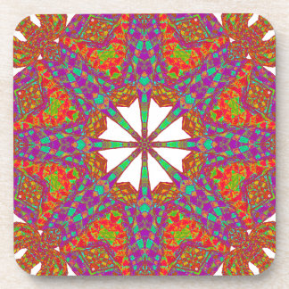 Trident Mandala Drink Coaster