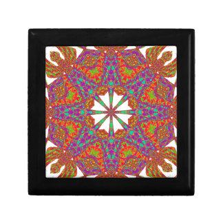 Trident Mandala Jewelry Box