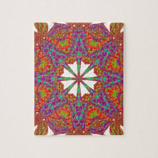 Trident Mandala Jigsaw Puzzle