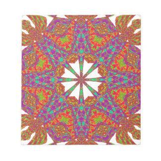 Trident Mandala Notepad