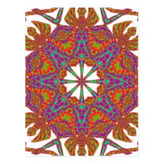 Trident Mandala Postcard