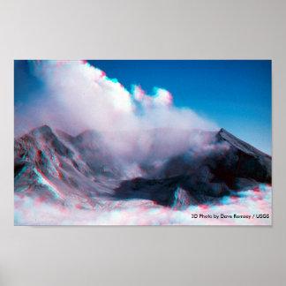 tridimensional/el Monte Saint Helens/2005 Posters
