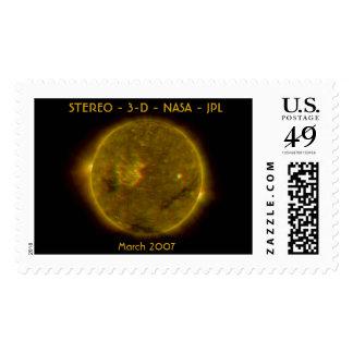 - Tridimensional - NASA ESTÉREA - JPL Sello