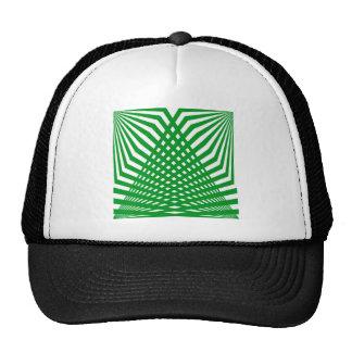 Tridimensional pattern trucker hat