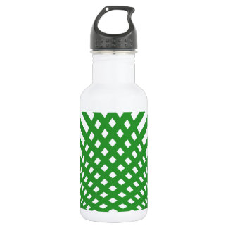 Tridimensional pattern water bottle