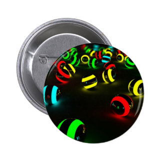 Tridimensional Pin Redondo De 2 Pulgadas