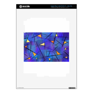 Tridiussos V1 - digital abstract Decal For iPad 3