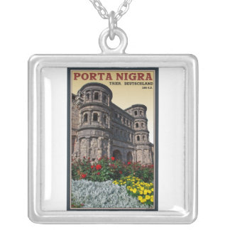 Trier - Porta Nigra Silver Plated Necklace