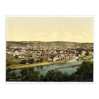 Trier (Treves), Mosela, valle de, Alemania P raro Postal