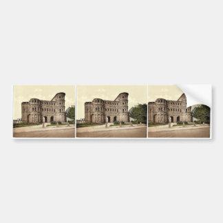 Trier (Treves), Porta Nigra (Black Gate), Moselle, Bumper Sticker