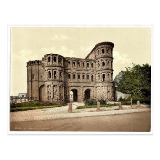 Trier (Treves), Porta Nigra (Black Gate), Moselle, Postcard