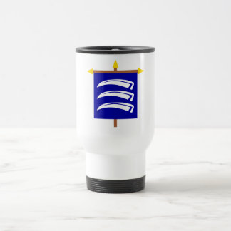 Triesen Armorial Banner on Crossbar 15 Oz Stainless Steel Travel Mug