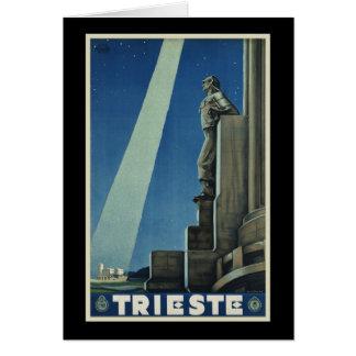 Trieste Greeting Card