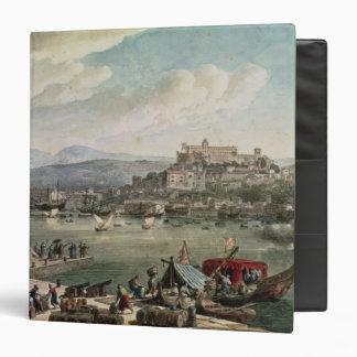 Trieste Harbour, 1802 Vinyl Binder