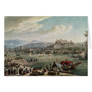 Trieste Harbour, 1802 Card