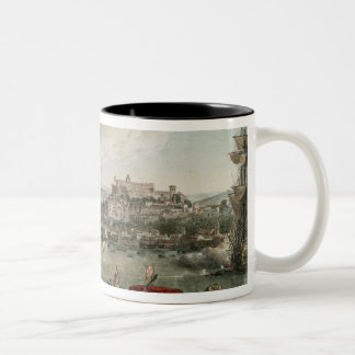 Trieste Harbour, 1802 Two-Tone Coffee Mug