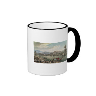 Trieste Harbour, 1802 Ringer Coffee Mug